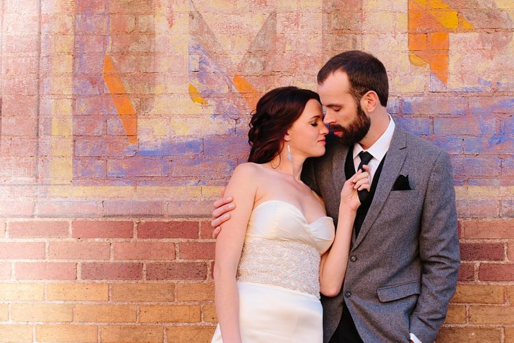 Downtown Flagstaff Wedding